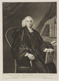 Martin Madan, by Richard Houston, published by  Carington Bowles, after  M. Jenkin - NPG D38135
