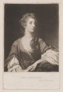 Elizabeth Napier (née Greenway), by Samuel William Reynolds, or by  Samuel Cousins, published by  Henry Graves & Co, after  Sir Joshua Reynolds, published circa 1820 or after (1765) - NPG D38471 - © National Portrait Gallery, London