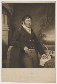William Alexander Madocks, by Charles Turner, published by and after  James Ramsay - NPG D38141