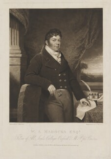 William Alexander Madocks, by Charles Turner, published by and after  James Ramsay - NPG D38142