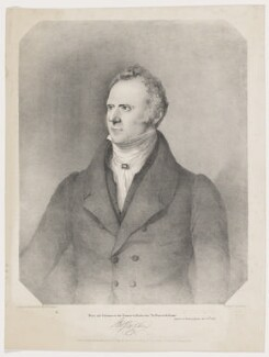 Robert James M'Ghee, printed by Charles Joseph Hullmandel, published by  L. & G. Seeley, published by  William Curry Jr & Co, after  William Stevenson - NPG D38144