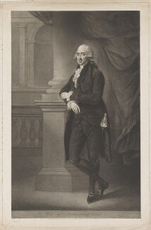 William Mainwaring, by and published by John Jones, after  Gainsborough Dupont - NPG D38148