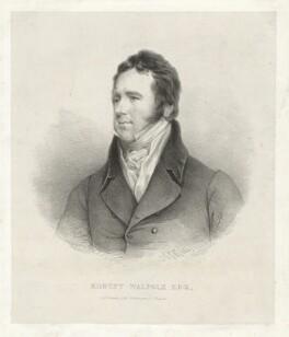 Robert Walpole, by George Edward Madeley, after  John Jackson - NPG D38516