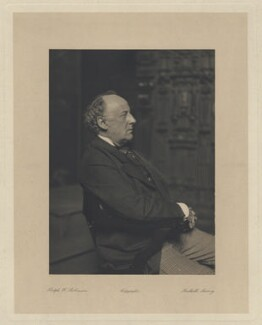 Sir John Everett Millais, 1st Bt, by Ralph Winwood Robinson - NPG x6285
