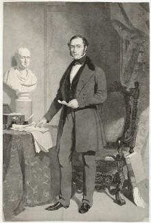 John Walter, by Samuel Bellin, after  John Lucas - NPG D38520