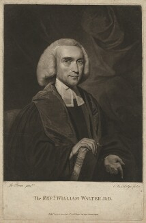 The Revd William Walter D.D., by and published by Charles Howard Hodges, after  Mather Brown - NPG D38522