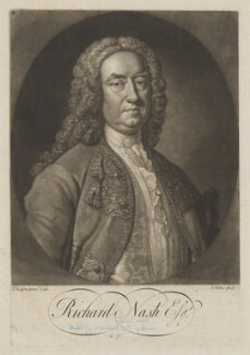 Richard ('Beau') Nash, by John Faber Jr, after  Thomas Hudson - NPG D38474