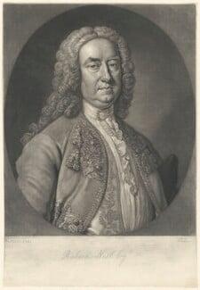 Richard ('Beau') Nash, by John Faber Jr, after  Thomas Hudson - NPG D38475