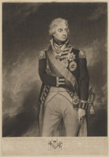 Horatio Nelson, by Richard Earlom, published by  Josiah Boydell, after  Sir William Beechey - NPG D38484