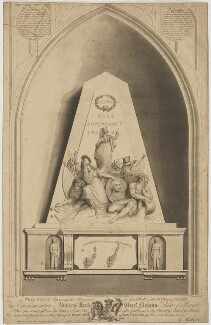 Monument to Horatio Nelson, by Thomas Charles Wageman, published by  John Clark, published by and after  George Ballisat - NPG D38487