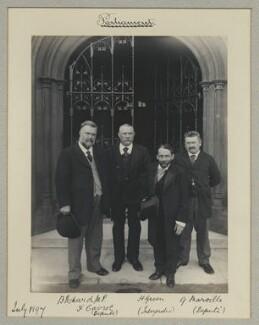 Benjamin Pickard; F. Cavrot; H. Green; G. Maroille, by Benjamin Stone - NPG x133296
