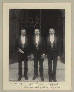 R. Turtle; John Foreman; J. Guyatt, by Benjamin Stone - NPG x133297