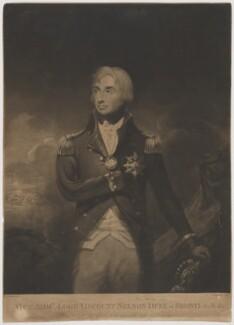 Horatio Nelson, by William Barnard, after  Lemuel Francis Abbott - NPG D38490