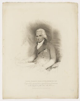 James Harris, 1st Earl of Malmesbury, by Charles Picart, published by  T. Cadell & W. Davies, after  Henry Edridge - NPG D38167
