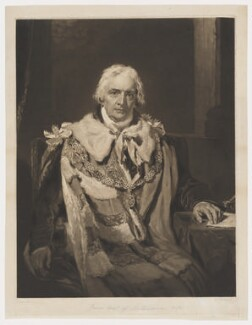 James Harris, 1st Earl of Malmesbury, by William Ward, after  Sir Thomas Lawrence - NPG D38168
