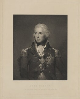 Horatio Nelson, by Robert Graves, published by  Henry Graves & Co, after  Lemuel Francis Abbott - NPG D38491