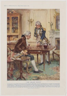 The Nelson Touch (Henry Addington, 1st Viscount Sidmouth; Horatio Nelson), after Arthur David McCormick - NPG D38493