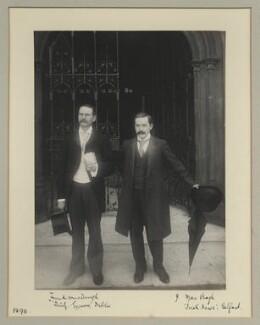 Frank MacDonagh; Jeremiah MacVeagh, by Benjamin Stone - NPG x133320