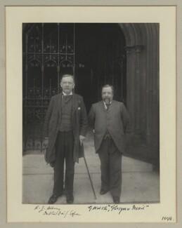 Robert James Albery; G. Walsh, by Benjamin Stone - NPG x133318