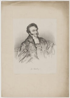 Henry James Newbery, by Lowes Cato Dickinson, after  T. Sampson - NPG D38709