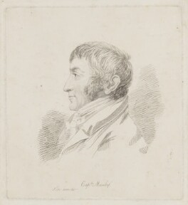 George William Manby, by Mary Dawson Turner (née Palgrave), after  Simon de Koster - NPG D38174