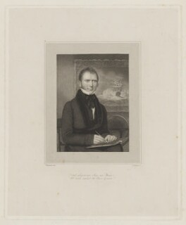 George William Manby, by Edward Francis Finden, after  Thomas Charles Wageman - NPG D38175