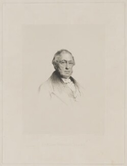 Sir William Newbigging, by George Baird Shaw, printed by  Alexander McGlashon (McGlashan), published by  Alexander Crichton (Crighton), after  Sir John Watson-Gordon - NPG D38710
