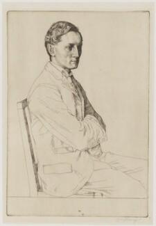 Sir Henry John Newbolt, by William Strang, 1898 - NPG D38711 - © National Portrait Gallery, London