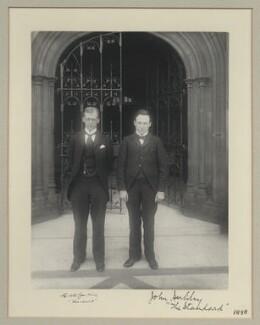 Edwin Alfred Jenkins; John Newman Herlihy, by Benjamin Stone - NPG x133316