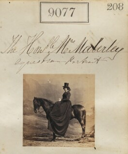 Hon. Catherine Charlotte Maberley (née Prittie), by Camille Silvy - NPG Ax58899