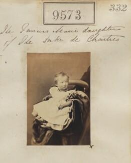 Princess Marie Amélie Françoise Hélène of Orléans, by Camille Silvy - NPG Ax59336