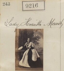 Lady Henrietta Louisa Priscilla Morant (née Somerset), by Camille Silvy - NPG Ax59038