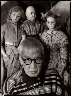 Tsugouharu Foujita, by Ida Kar, 1954 - NPG x133281 - © National Portrait Gallery, London