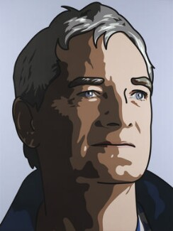 James Dyson ('James, Inventor'), by Julian Opie, 2010 - NPG  - © Julian Opie / National Portrait Gallery, London