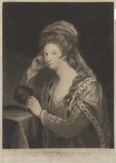 Frances Carpenter (née Manners, later Anstruther), Countess of Tyrconnell, by David Martin - NPG D38196