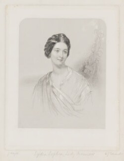 Lydia Manners-Sutton (née Dashwood), Lady Manners of Foston, by W. Joseph Edwards, after  John Hayter - NPG D38198