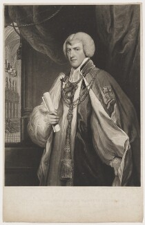 Charles Manners-Sutton, by and published by Charles Turner, after  Colnaghi, Son & Co, published 1 January 1830 (circa 1794) - NPG D38200 - © National Portrait Gallery, London