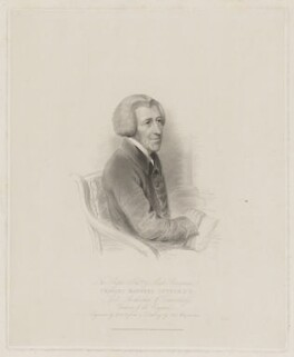 Charles Manners-Sutton, by William Holl Sr, published by  Robert Cribb & Son, after  Thomas Charles Wageman - NPG D38201