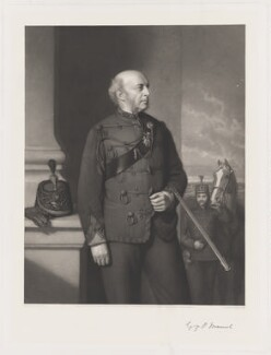 George Pleydell Mansel, by Richard Josey, published by  Henry Graves & Co, after  Stephen Pearce - NPG D38205