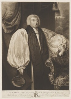 William Lort Mansel, by William Say, published by  Richard Harraden, published by  Richard Banks Harraden, after  Thomas Kirkby - NPG D38206