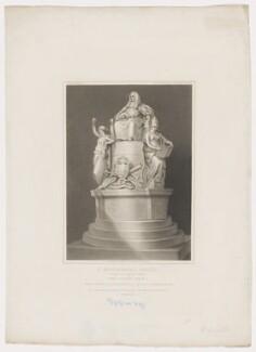 William Murray, 1st Earl of Mansfield ('A Monumental Group'), by James Godby, printed by  Hayward, published by  Longman & Co, published by  Josiah Taylor, published by  William Bond, after  Robert William Satchwell, after  John Flaxman, published 20 January 1812 - NPG D38207 - © National Portrait Gallery, London