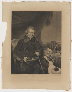 Sir James Mansfield, by Charles Turner, published by  Charles Sweet, after  Henry Edridge - NPG D38211