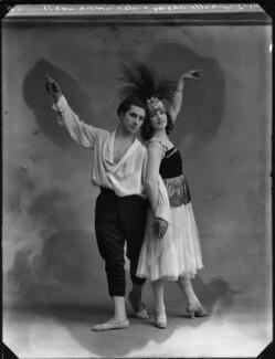 Alexander Goudin; Mademoiselle Dhery, by Bassano Ltd - NPG x154629