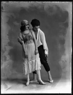 Mademoiselle Dhery; Alexander Goudin, by Bassano Ltd - NPG x154632