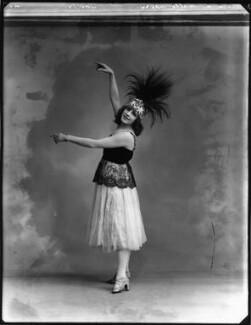 Mademoiselle Dhery, by Bassano Ltd - NPG x154635
