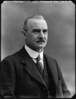 Sir Marshall Frederick Reid, by Bassano Ltd - NPG x154645