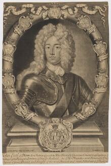 John Erskine, 22nd or 6th Earl of Mar, by John Smith, after  Sir Godfrey Kneller, Bt, 1703 - NPG D38217 - © National Portrait Gallery, London
