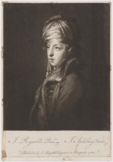 Giuseppe Filippo Liberati ('Joseph') Marchi, by Jonathan Spilsbury, published by  John Boydell, after  Sir Joshua Reynolds - NPG D38218