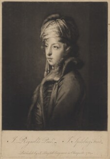 Giuseppe Filippo Liberati ('Joseph') Marchi, by Jonathan Spilsbury, published by  John Boydell, after  Sir Joshua Reynolds - NPG D38219