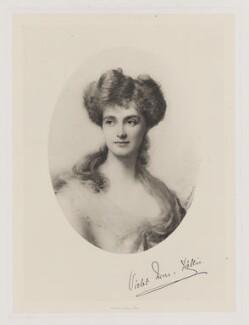 Susan Violet Erskine (née Ashley-Cooper), Countess of Mar and Kellie, by Frederick John Jenkins, after  Ellis William Roberts - NPG D38221